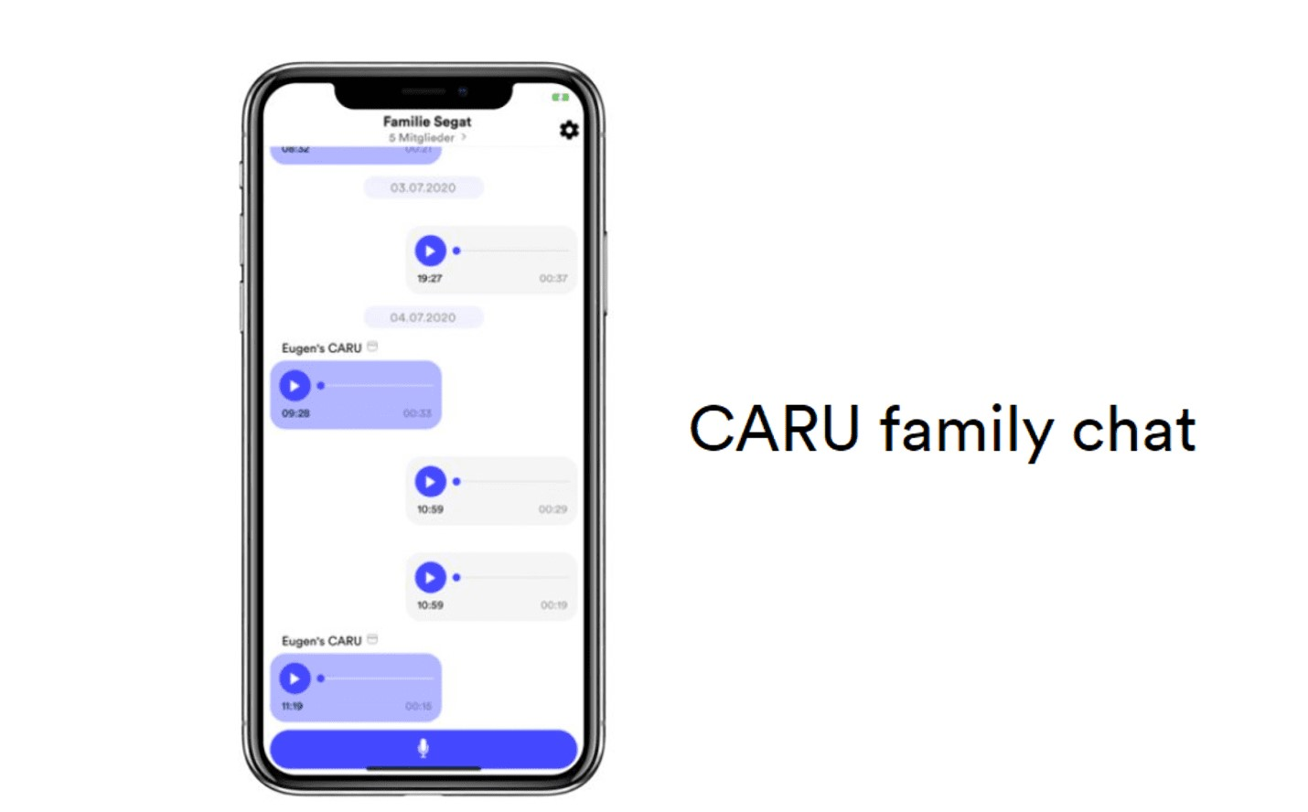 Caru family chat